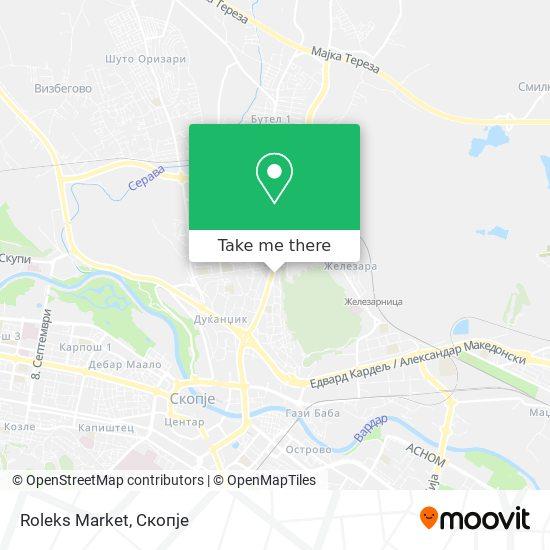 Roleks Market map
