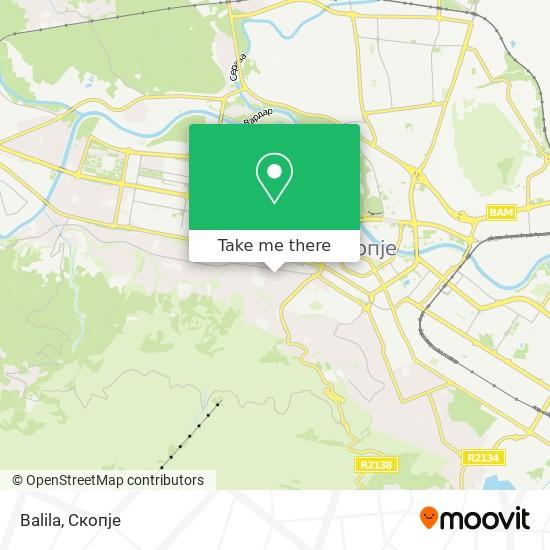 Balila map