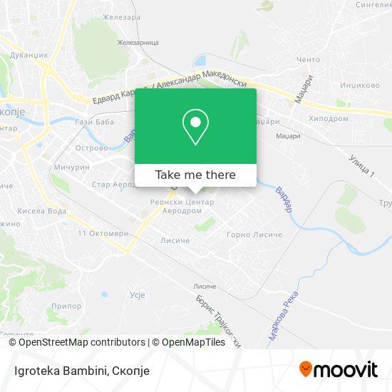 Igroteka Bambini map