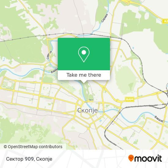 Sektor 909 map