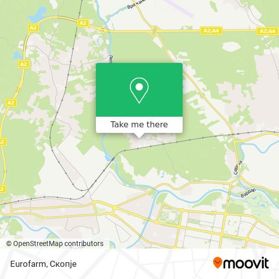 Eurofarm map