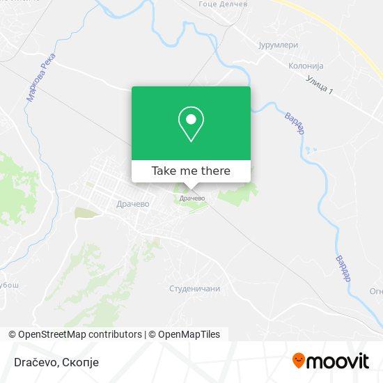 Dračevo map