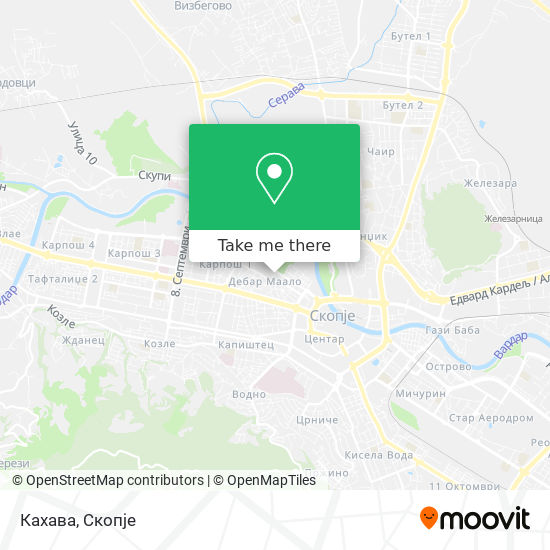 Кахава map