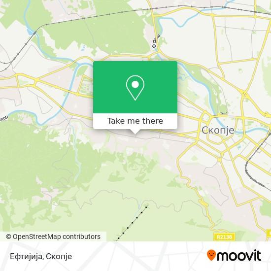 Ефтијија map