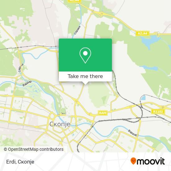 Erdi map
