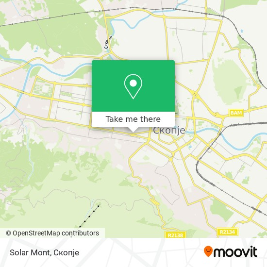 Solar Mont map