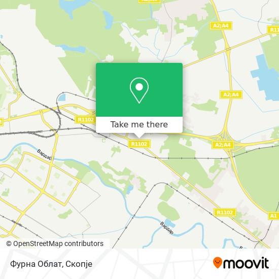 Фурна Облат map