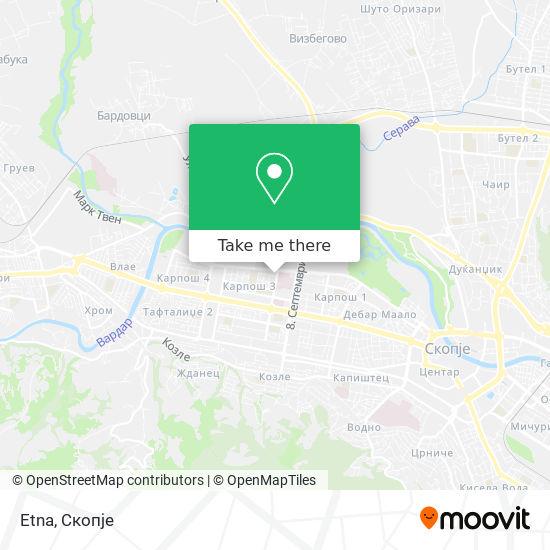 Etna map
