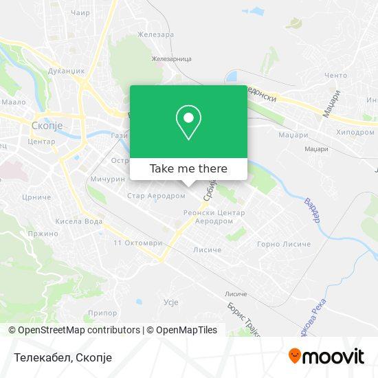 Телекабел map