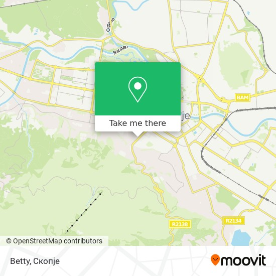 Betty map