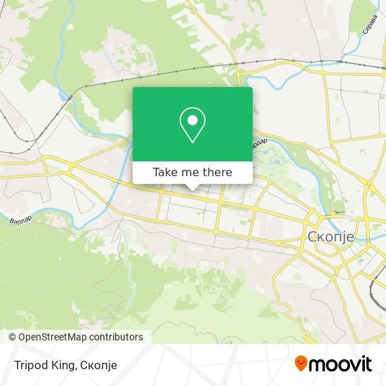 Tripod King map