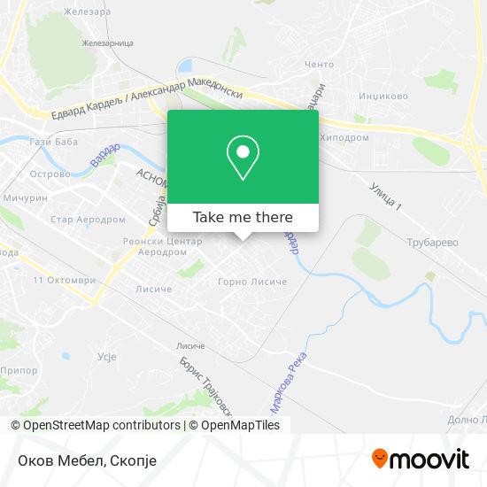 Оков Мебел map