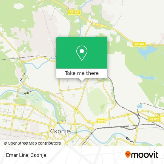 Emar Line map