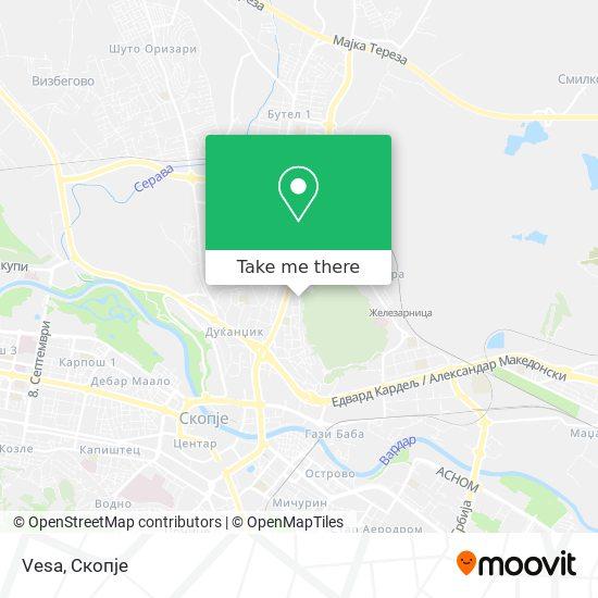 Vesa map