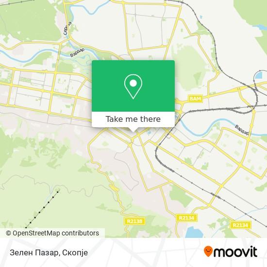 Зелен Пазар map
