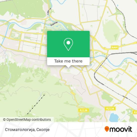 Стоматологија map