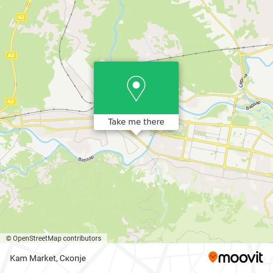 Kam Market map