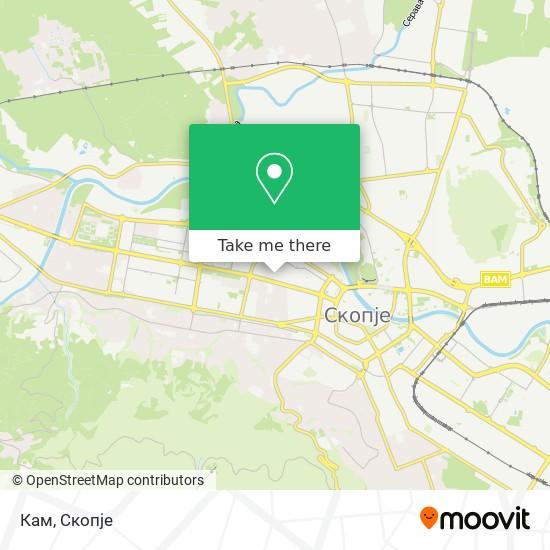 Кам map