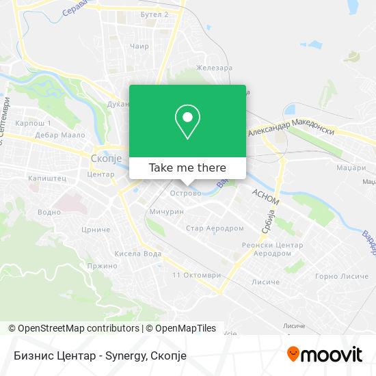 Бизнис Центар - Synergy map