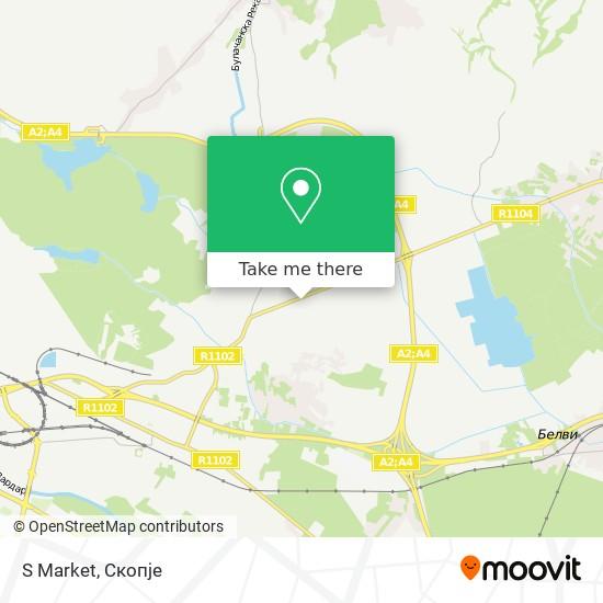 S Market map