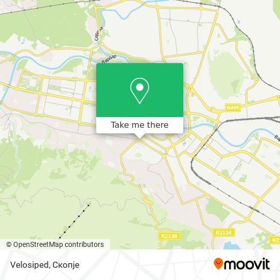 Velosiped map