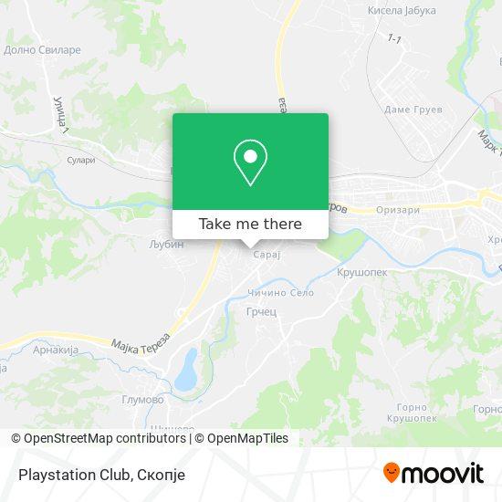 Playstation Club map