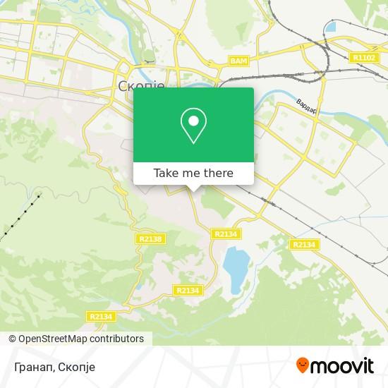 Гранап map