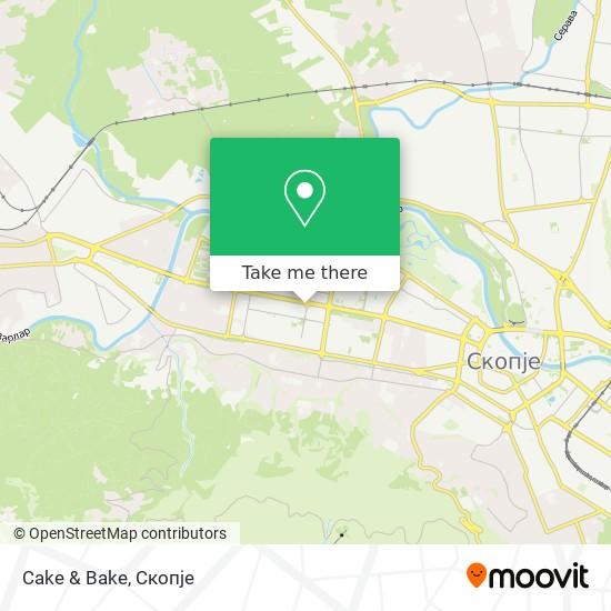 Cake & Bake map