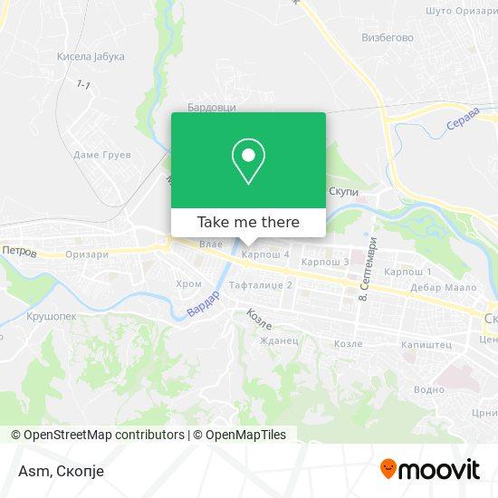 Asm map