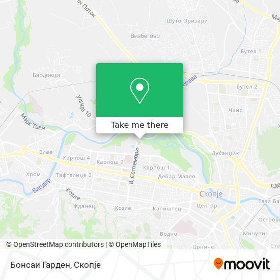 Бонсаи Гарден map
