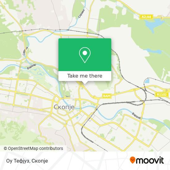 Оу Тефјуз map