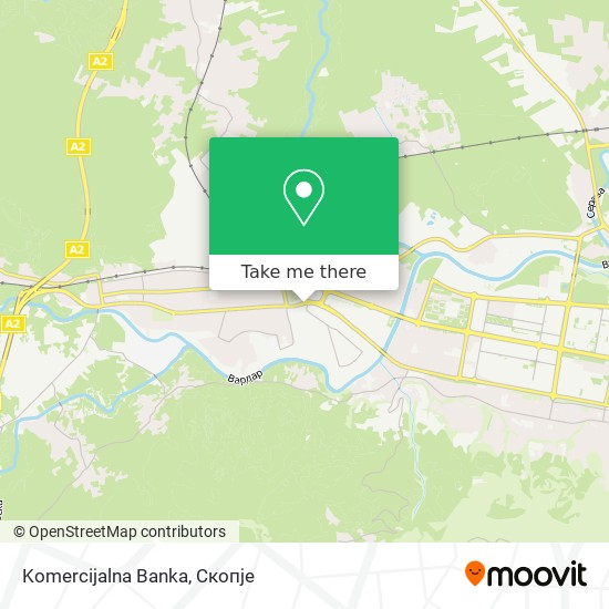 Komercijalna Banka map