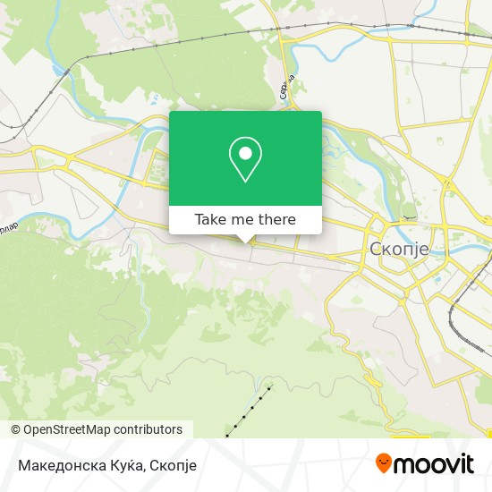 Македонска Куќа map