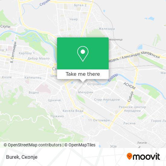 Burek map
