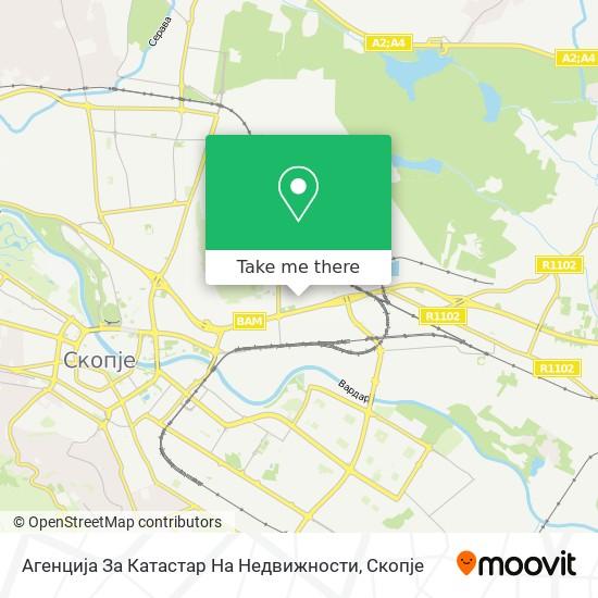 Агенција За Катастар На Недвижности map