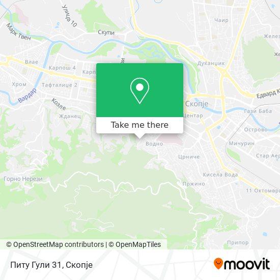 Питу Гули 31 map