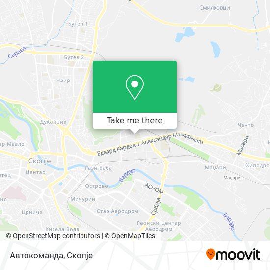 Автокоманда map