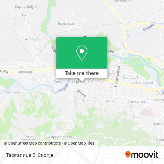 Тафталиџе 2 map