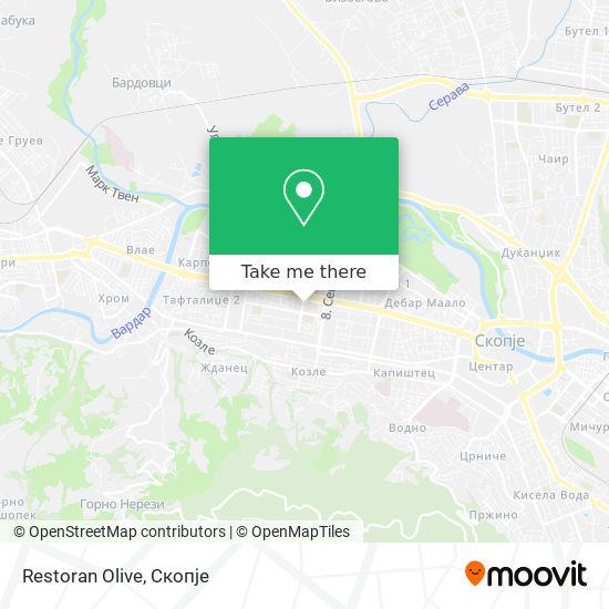 Restoran Olive map