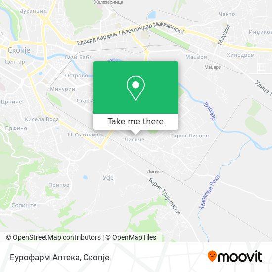 Еурофарм Аптека map