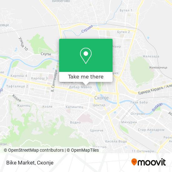 Bike Market map
