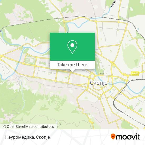 Неуромедика map