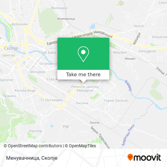 Менувачница map