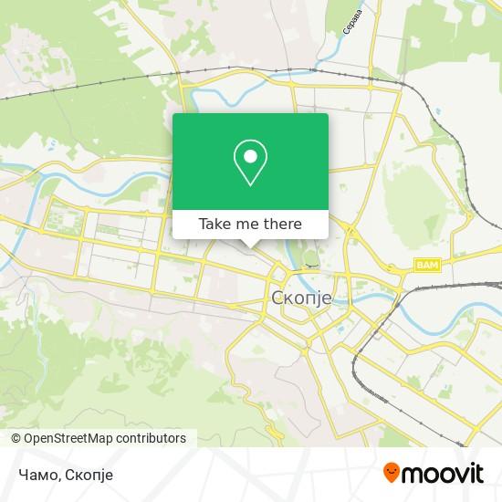 Чамо map