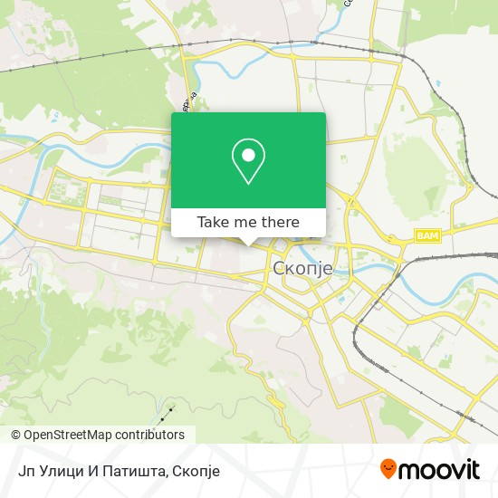 Јп Улици И Патишта map