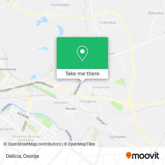 Delicia map