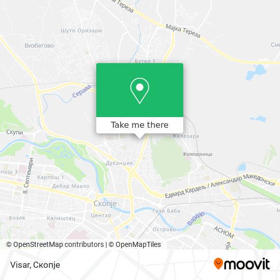 Visar map