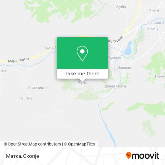 Матка map