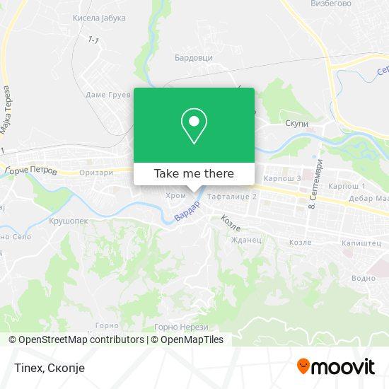 Tinex map