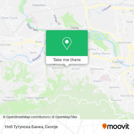 Нлб Тутунска Банка map